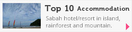 Top 10 Accommodation of Sabah